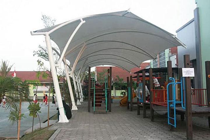 Keunggulan Atap Membran Untuk Tenda Kanopi