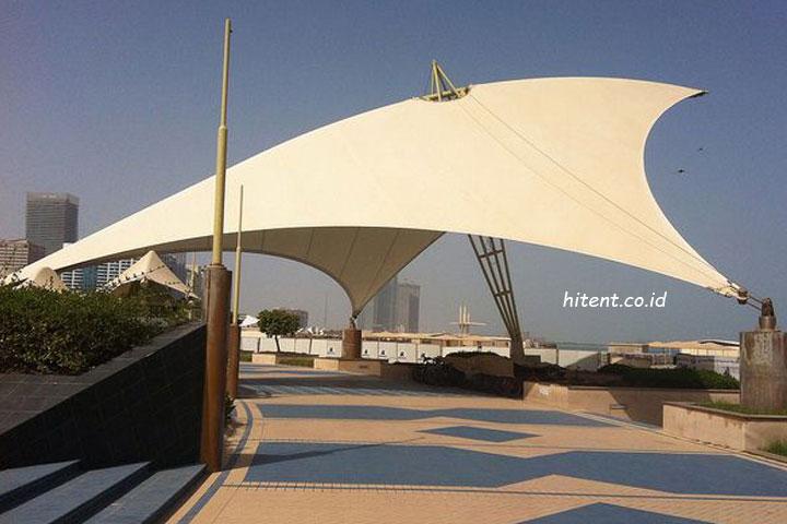 Tenda membran surabaya murah